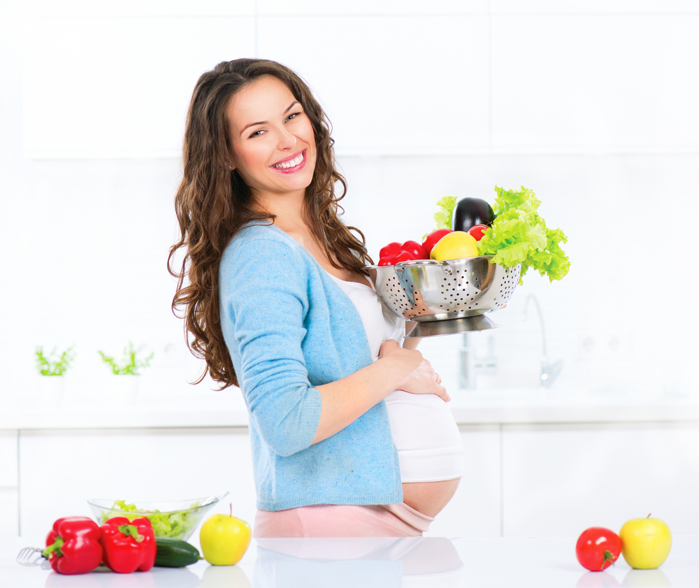 Healthy nutritional habits should be your best friend during pregnancy!