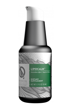 Lipocalm from Quicksilver Scientific is a preparation containing a set of stress alleviating herbs in innovative liposomal form!